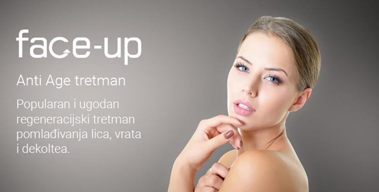 POPUST: 50% - ANTI AGE regeneracija! ODMAH vidljivi rezultati uz estetski tretman zabezbolno pomlađivanje lica, vrata i dekoltea već od 299 kn! (Med.Kontura estetika)
