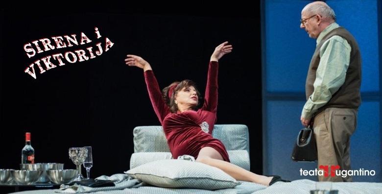 NOVA predstava - Sirena i Viktorija u Lisinskom za samo 50 kn!