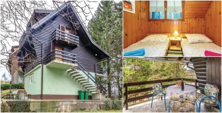 [GORSKI KOTAR] Povedite obitelj i prijatelje na odmor u netaknutoj prirodi! 2 noćenja za 2 do 6 osoba u autohtonoj drvenoj kući*** za 899 kn!