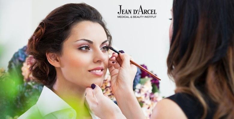 MEGA POPUST: 71% - Individualni tečaj šminkanja uz vodstvo kozmetičara s iskustvom - naučite o konturiranju, tehnikama i nanošenju umjetnih trepavica za 249 kn! (Jean d`Arcel Medical & Beauty Institut)