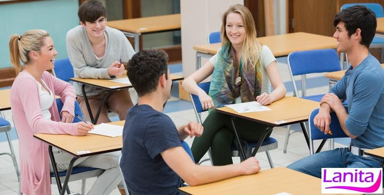 Engleski, njemački ili francuski - tečaj u trajanju 48 školskih sati
