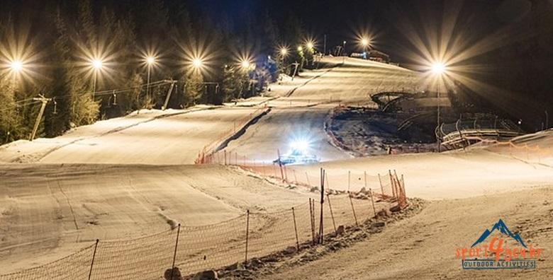 Noćna škola skijanja na Sljemenu - 2 dana, EKSKLUZIVNO za 449 kn!