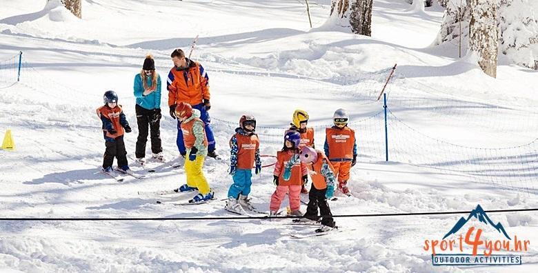 Skijanje na Sljemenu Sport4you - 4 dana za djecu 3 do 7 godina za 990 kn!