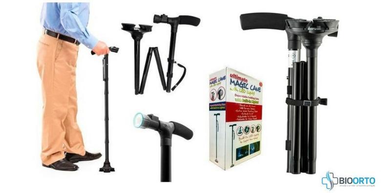 Ortopedski štap sa sigurnosnim dnom, LED lampom, alarmom i dodatnom ručkom već od 229 kn!