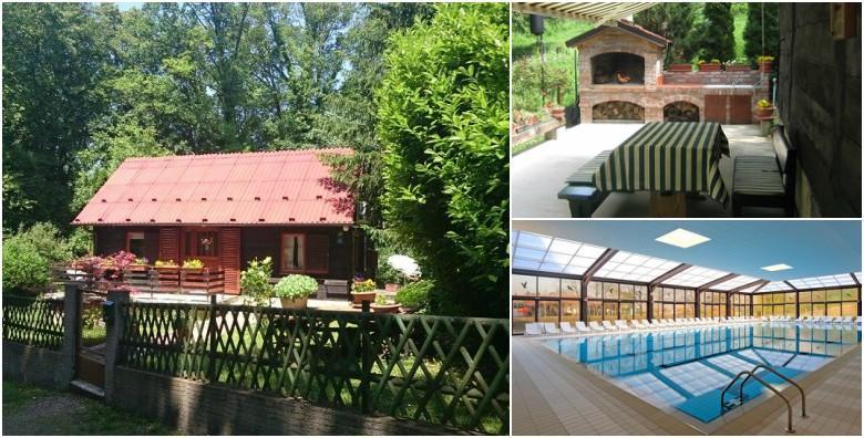 DONJA STUBICA - 2 noćenja za 2 osobe u drvenoj kući 3* uz cjelodnevne ulaznice za Terme Jezerčica, uživanje u prirodi uz opuštanje na bazenima za 599 kn!
