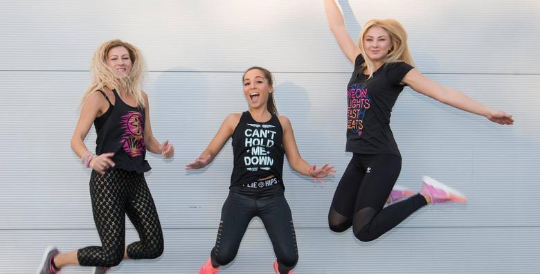 Zumba fitness za žene - mjesečna članarina za 99 kn!