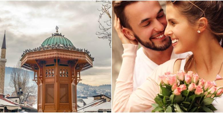 Valentinovo u Sarajevu - 2 dana s doručkom i prijevozom za 440 kn!