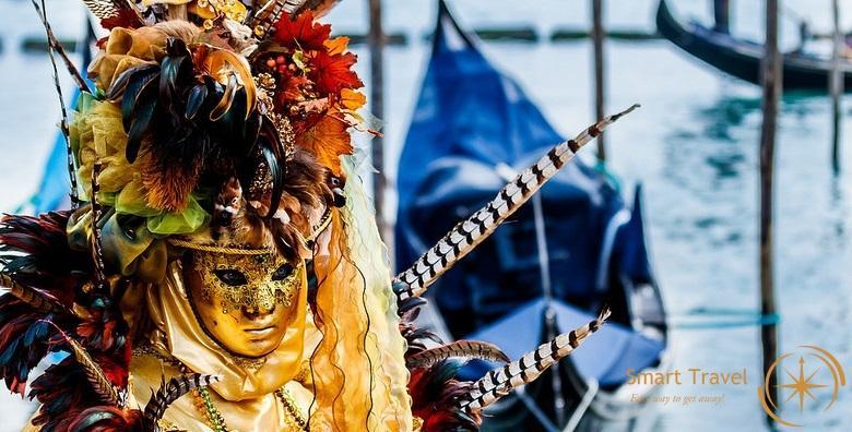 Karneval u Veneciji i otoci lagune - 2 dana s doručkom u hotelu 3/4* i prijevozom za 479 kn!