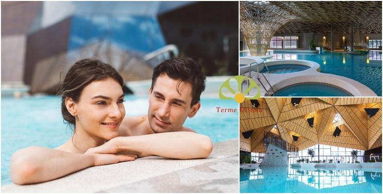 [TERME OLIMIA] Wellness uživancija uz neograničeno kupanje u bazenima Termalija i Termama Tuhelj - 2 noćenja s polupansionom za dvoje od 1.337 kn!