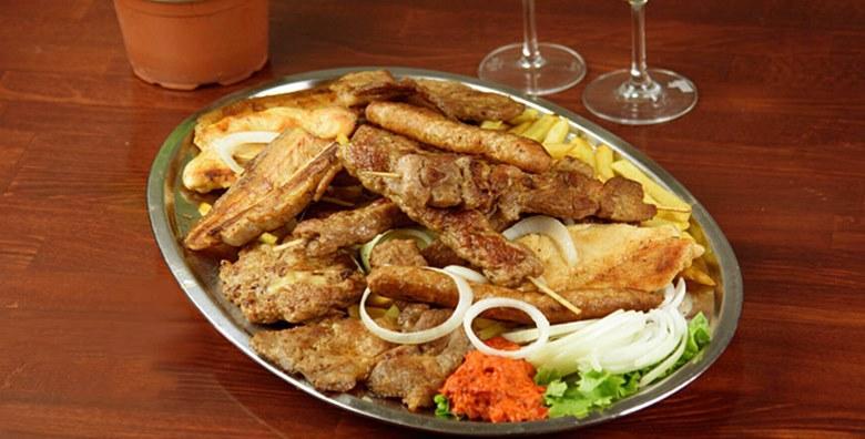 POPUST: 50% - ROŠTILJ PLATA Gurmanska gozba za 2 ili 4 osobe - ćevapi, svinjska vratina, mesni uštipci, gril piletina i pečenica uz pomfrit, salatu, luk i ajvar od 149 kn! (Bistro Arka)
