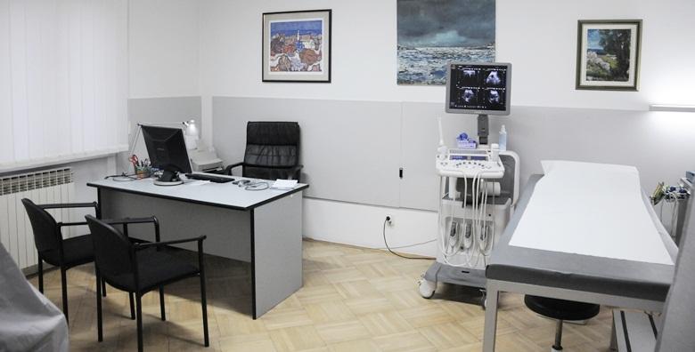 Ultrazvuk urotrakta, bubrega, mjehura i transrektalni ultrazvuk prostate za 390 kn!