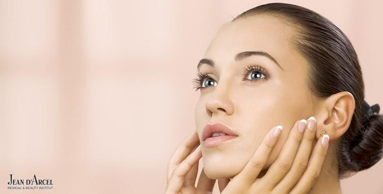 MEGA POPUST: 71% - Mikrodermoabrazija, njega hyaluronom i matičnim stanicama, mehaničko čišćenje lica i dijatermija uz ODMAH vidljive rezultate za 189 kn! (Jean d`Arcel Medical & Beauty Institut)