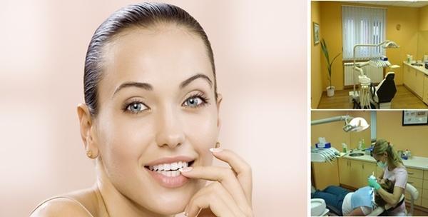Dvije plombe i stomatološki pregled