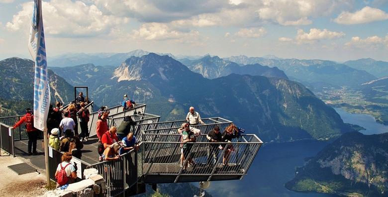 Vidikovac '5 prstiju' i Hallstatt - uživajte u bajkovitom austrijskom gradiću i ulovite najbolji kadar na vidikovcu sa staklenim podom za 259 kn!