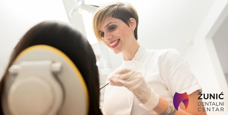 MEGA POPUST: 86% - Zdravi zubi znače lijep osmijeh, osigurajte svoj u Dentalnom centru Žunić!Čišćenje kamenca, poliranje, pjeskarenje i pregled za samo 99 kn! (Dentalni centar Žunić)