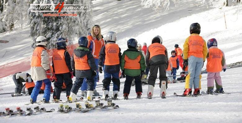 Škola skijanja na Sljemenu za djecu i odrasle - UZ NIŽU CIJENU za 399 kn!