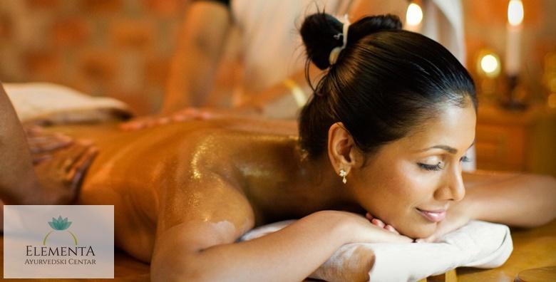 Ayurvedska masaža cijelog tijela u trajanju 60 minuta za 169 kn!