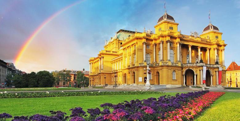 POPUST: 49% - ZAGREB Otkrijte sve čari hrvatske metropole - 1 noćenje s doručkom za 2 osobe u The Movie Hotelu 3* nedaleko od centra grada za 299 kn! (The Movie Hotel***)