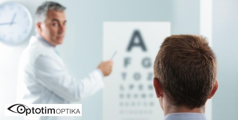 MEGA POPUST: 74% - POLIKLINIKA OPTOTIM Specijalistički pregled za meke kontaktne leće uz 30% popusta na leće s otopinom i 50% popusta na kompletne dioptrijske naočale (Poliklinika Optotim)