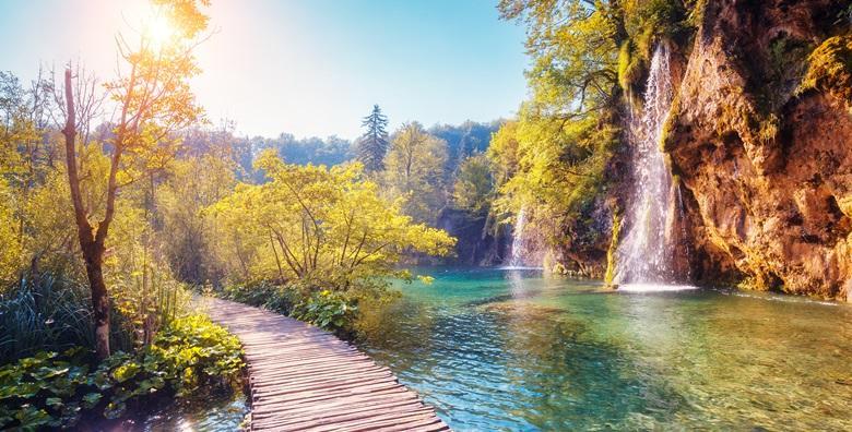 Ponuda dana: NP PLITVICE Doživite očaravajuću ljepotu jezerskih vrtova povezanih slapovima - 1 noćenje za dvoje u moderno uređenim sobama*** do 31.8. za 299 kn! (Rooms Magdić***)