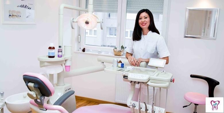 MEGA POPUST: 82% - Izbjeljivanje zubi ZOOM tehnologijom, poliranje profesionalnom pastom, čišćenje zubnog kamenca uz pregled i konzultacije za 449 kn! (Ordinacija dentalne medicine Dami Dent)