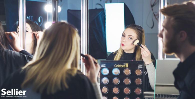 POPUST: 62% - TEČAJ ŠMINKANJA Savladaj poznati ''New York stil šminkanja'' uz profesionalnog Makeup Artista Pavla Kantora i stekni diplomu za 249 kn! (Škola šminkanja Sellier)