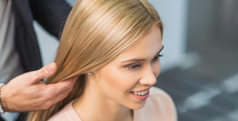 Šišanje i fen frizura uz ampulu keratina koja odmah vraća kosi mekoću, sjaj i podatnost te obnavlja i jača strukturu vlasi za 139 kn!