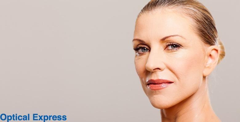 POPUST: 50% - KOREKCIJA VJEĐA Riješite problem opuštenih kapaka, uklonite znakove starenja i riješite se viška kože - gornji ili donji kapci oba oka od 3.750 kn! (Poliklinika Optical Express)