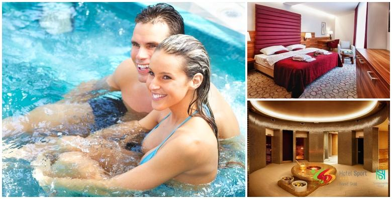 POPUST: 55% - Wellness u Hotelu Sport 4* - 1 noćenje s doručkom za 2 osobe uz korištenje sauna, bazena i relax zone te aromamasažu, piće dobrodošlice i kolač kuće od 493 kn! (Hotel Sport 4*)