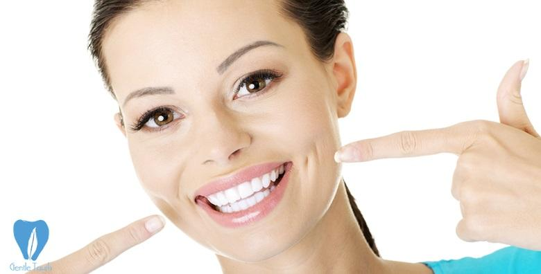MEGA POPUST: 75% - Čišćenje kamenca, pjeskarenje, poliranje, fluoridacija i interdentalno čišćenje uz stomatološki pregled za 199 kn! (Ordinacija dentalne medicine Gentle Touch)