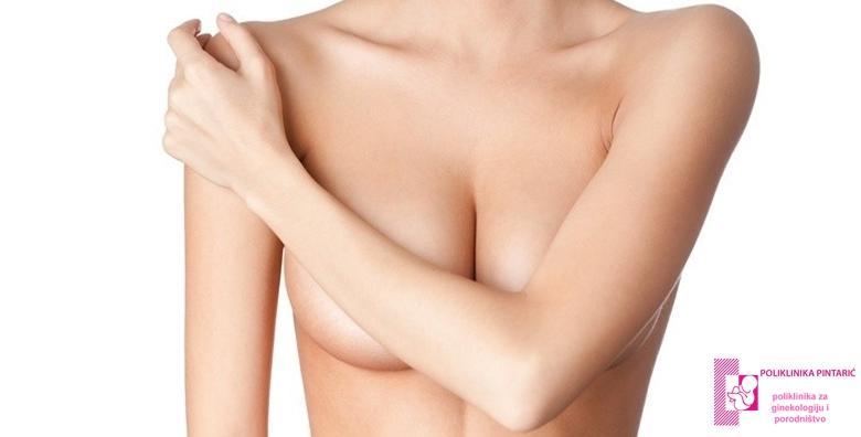 POPUST: 34% - ULTRAZVUK DOJKI Svaka osma žena obolijeva od raka dojke! Izlječivost je veća od 90% ukoliko se otkrije na vrijeme, stoga djelujte preventivno! (Poliklinika Pintarić)