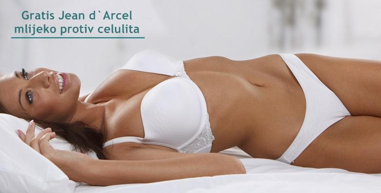 MEGA POPUST: 92% - TOTAL BODY MAKEOVER 48 tretmana mršavljenja + GRATIS plan prehrane! Smanjenje obujma, uklanjanje masnih naslaga i učvršćivanje tijela za 1.299 kn! (Jean d`Arcel Medical & Beauty Institut)