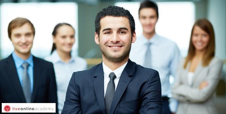 MEGA POPUST: 99% - ONLINE TEČAJ Naučite kako biti uspješan vođa i menadžer te motivirati svoje zaposlenike - usvojite sve potrebne vještine za samo 38 kn! (Live Online Academy)