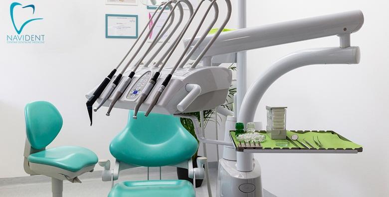 MEGA POPUST: 84% - Čišćenje kamenca, pjeskarenje, poliranje i pregled u Navident centru dentalne medicine u Velikoj Gorici za samo 99 kn! (Centar dentalne medicine Navident)