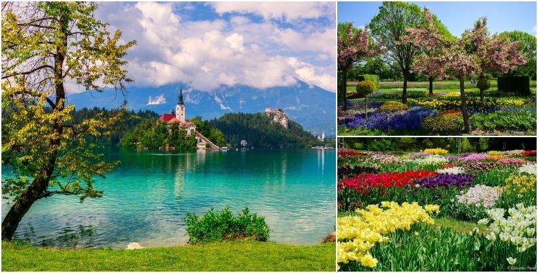 [BLED I VOLČJI POTOK] Prvi maj provedite na proljetnom sajmu i izložbi tulipana te na čarobnom slovenskom jezeru za 149 kn!