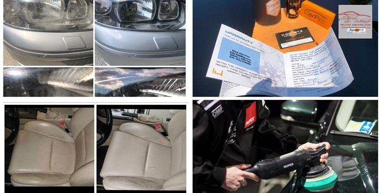 Kompletno čišćenje auta - vanjsko i unutarnje pranje, sušenje, dezinfekcija, vosak za 699 kn!