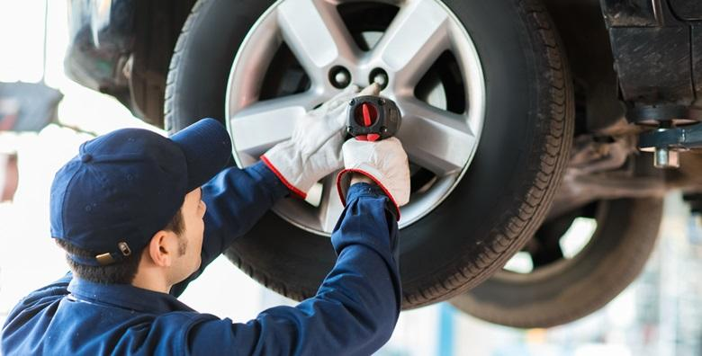 POPUST: 40% - ZAMJENA GUMA Demontaža, balansiranje i montaža 4 gume do 20 cola s aluminijskim ili čeličnim felgama za samo 149 kn! (AC Safety Car)