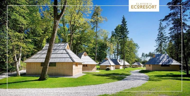 Glamping, Eco Resort Slovenija - 1 noćenje s doručkom za dvoje za 443 kn!