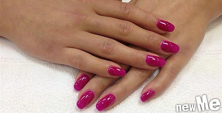 POPUST: 59% - Trajni lak i manikura - uživajte u lijepim noktima koji traju tjednima za samo 99 kn! (NewMe salon ljepote)