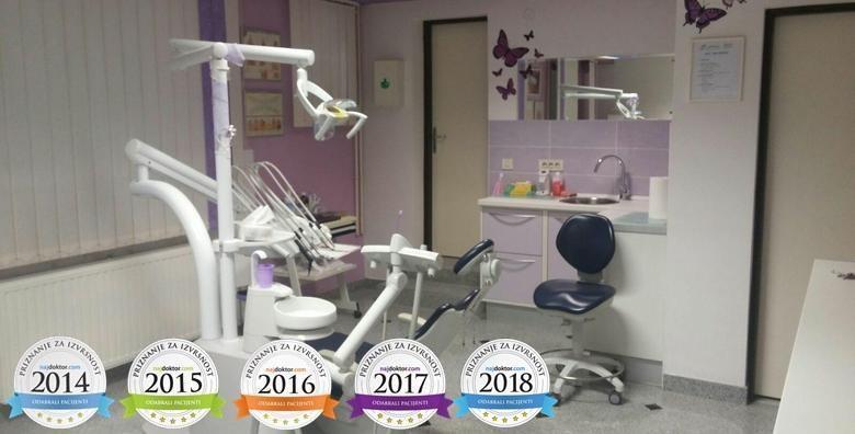 MEGA POPUST: 86% - Čišćenje kamenca, poliranje, pjeskarenje, premazivanje Tooth Mousse pastom, pregled i edukacija o oralnoj higijeni u Ordinaciji Profident za 99 kn! (Ordinacija dentalne medicine Profident)
