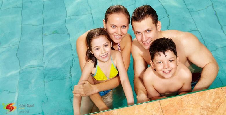 POPUST: 53% - Obiteljski odmor u Hotelu Sport 4* - 2 noćenja s doručkom za 2 osobe uz korištenje sauna, bazena i parcijalne masaže te organizirani izlet
