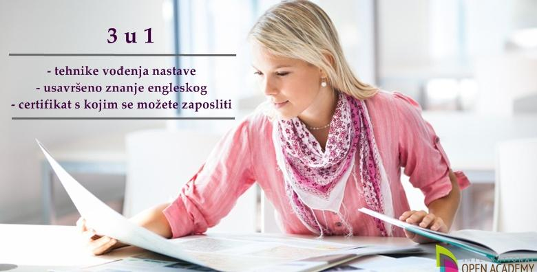[TESOL CERTIFIKAT] Steknite svjetski priznati certifikat s kojim možete predavati engleski diljem svijeta - online tečaj u trajanju 120 h za samo 19 kn!