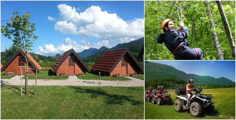 Rizvan City, PP Velebit - 2 noćenja u drvenim bungalovima za dvoje za 399 kn!