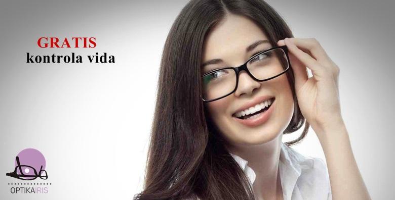 POPUST: 51% - Kompletne dioptrijske naočale u Optici Iris! Okvir po izboru i stakla s čak 4 sloja zaštite uz GRATIS kontrolu vida s određivanjem dioptrije za 739 kn! (Optika Iris)