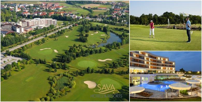 EKSKLUZIVNO! Zaigrajte golf na igralištu s 18 rupa i opustite se u wellnessu za 3.295 kn!