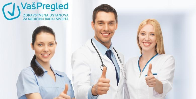 POPUST: 40% - Liječnički pregled za profesionalnu vozačku dozvolu B, C i D kategorije za 339 kn! (Ustanova za zdravstvenu skrb Vaš pregled)