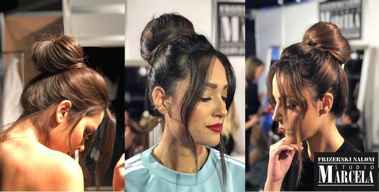 Balayage, ombre, klasični pramenovi ili bojanje kose uz šišanje, frizuru i preljevu poznatom Studiju Marcela za 229 kn!