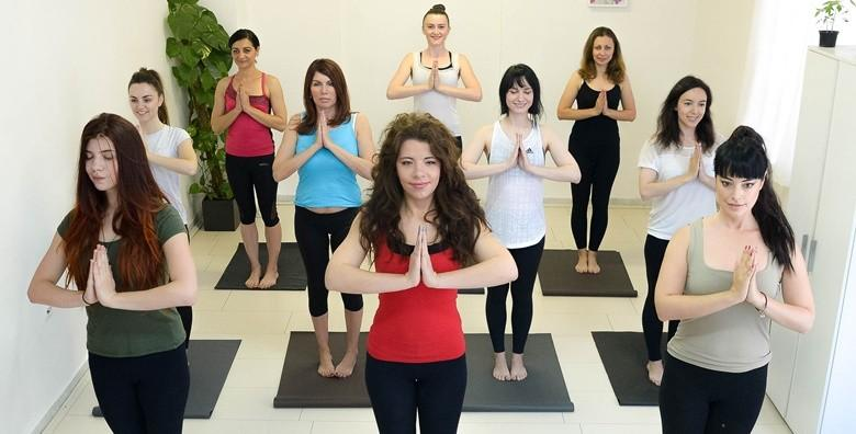 Yoga - mjesec dana vježbanja za početnike ili napredne već od 99 kn!