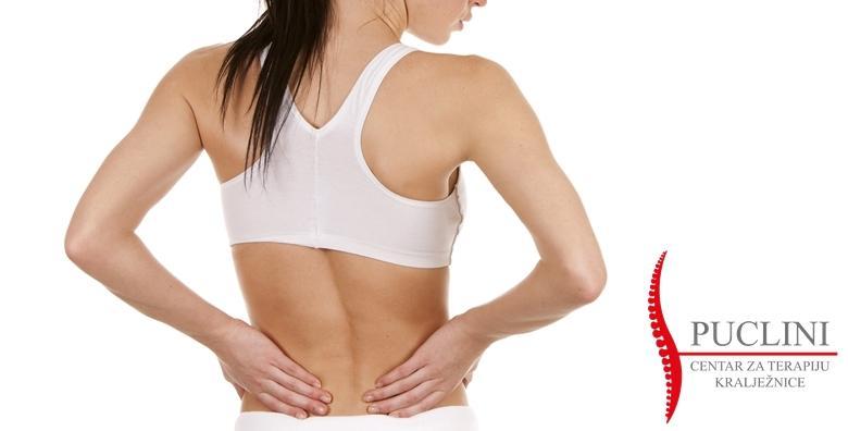 Pregled i terapija kralježnice za 149 kn!