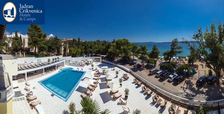 Crikvenica, Hotel Esplanade**** - 2 noćenja s polupansionom i wellness za dvoje od 1.099 kn!